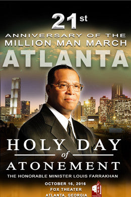 Atlanta, GA. 21st Anniversary Of The Million Man March
