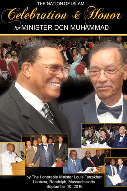 Celebration & Honor for Minister Don Muhammad