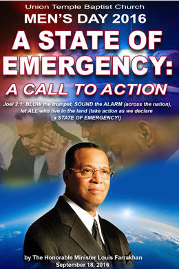 A State of Emergency: A Call To Action