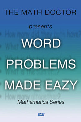 Word Problems Made Eazy (DVD)