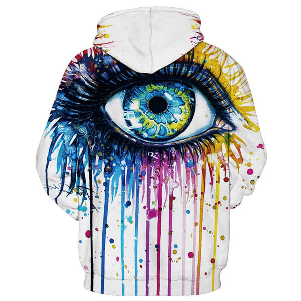 LGBT 3D Printed EYE OF EQUALITY Hoodie