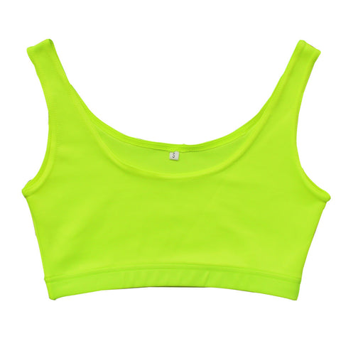 Women Fitness Crop Top