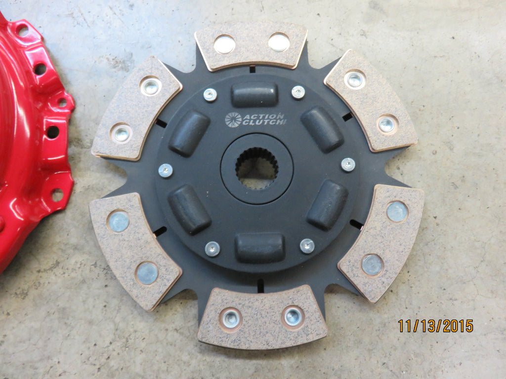 Action Clutch 6 Puck Clutch Disc