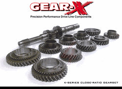 Gear-X 1st-6th Synchro Street/Road Race Gearset- up to 600whp