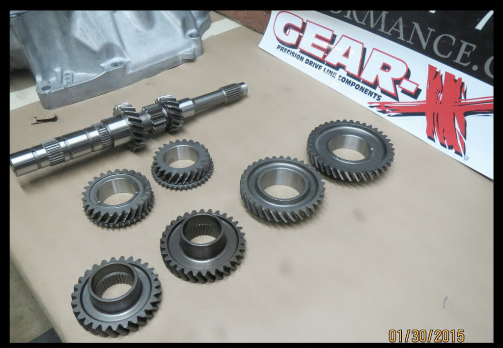 Gear-X 1st-4th Synchro Street/Drag Race Gearset- Up to 600whp