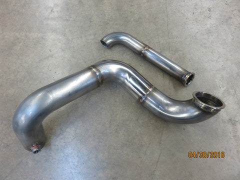 KMOD Downpipe & Dumptube For Sidewinder Manifold
