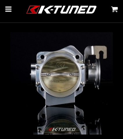 K-Tuned 72mm Throttle Body