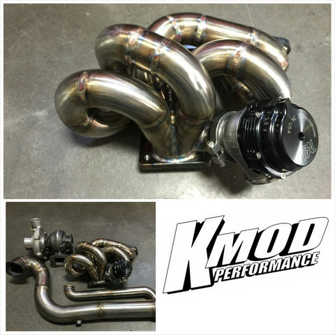 KMOD 06-11 Civic Si Hot Side Turbo Kit-Fg2/Fa5