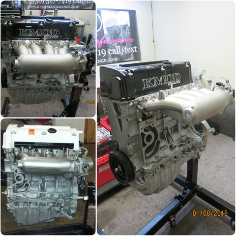 KMOD Stage: 2 K24 Crate Engine For Boost (400-700whp)