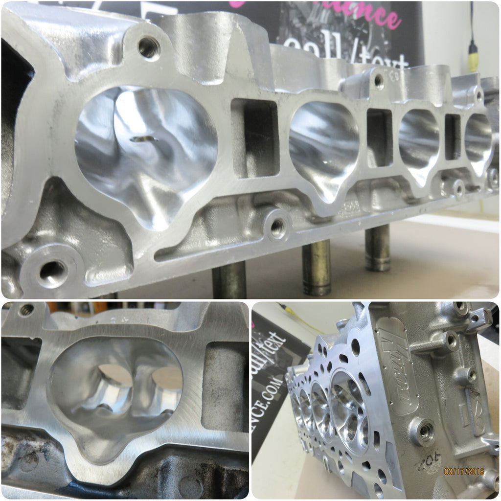 Copy of KMOD Stage: 3 K20 Cylinder Head (373cfm)