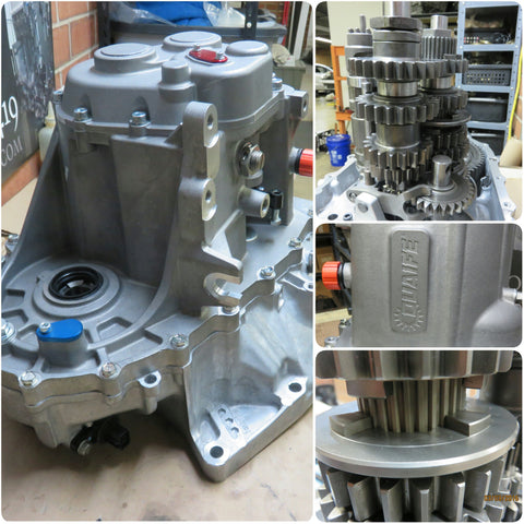 Quaife Sequential Dogbox Transmission