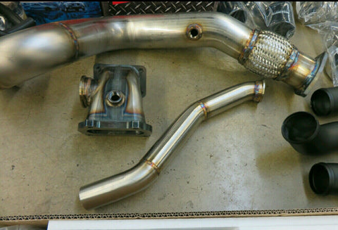 KMOD 2012-2015 Civic Si Hot Side Turbo Kit- Fg4/Fb6 (400-900)