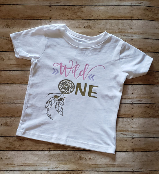 Wild One Birthday Shirt