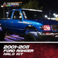 2001-2011 Ford Ranger Color-Chasing Halo Kit