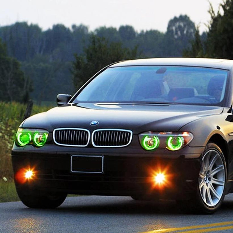2002-2005 BMW 7 Series Color-Chasing LED Halo Kit