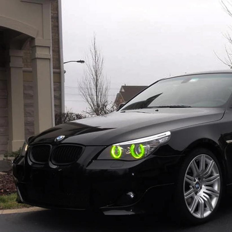2004-2005 BMW 545i Color-Chasing LED Halo Kit