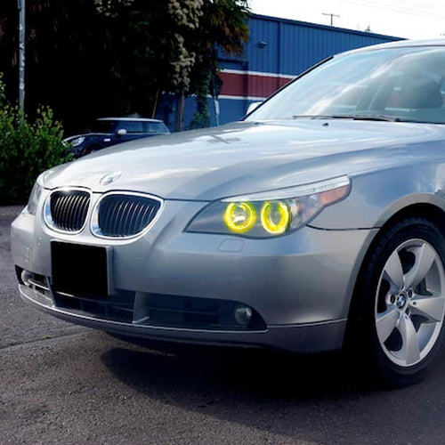 2004-2007 BMW 530i Color-Chasing LED Halo Kit