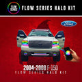 2004-2008 Ford F150 Color-Chasing Halo Kit LED headlight kit  AutoLEDTech Colorwerkz Oracle Starry Night Flashtech