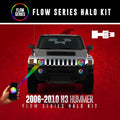 2006-2010 Hummer H3 Color-Chasing Halo kit LED headlight kit  AutoLEDTech Colorwerkz Oracle Starry Night Flashtech