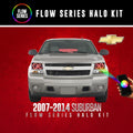 2007-2014 Chevrolet Suburban Color-Chasing Halo Kit LED headlight kit  AutoLEDTech Colorwerkz Oracle Starry Night Flashtech