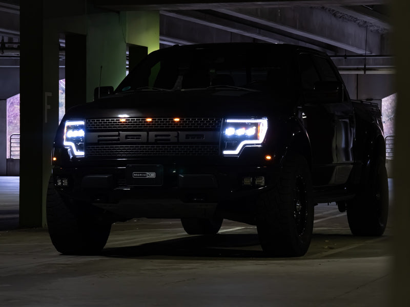 2009-2014 Ford F150 / Raptor LED DRL Projector Headlights