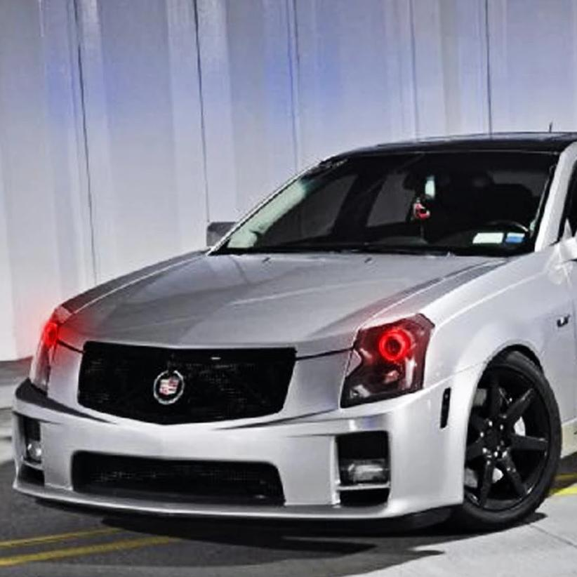 2003-2007 Cadillac CTS/CTSV Color-Chasing Halo Kit