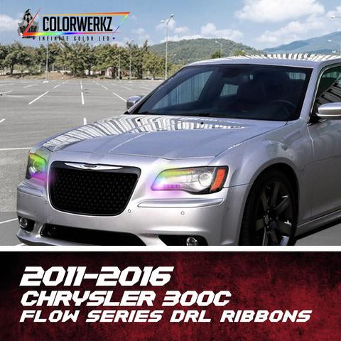 2011-2017 Chrysler 300 C/SRT Color-Chasing DRL Boards LED headlight kit  AutoLEDTech Colorwerkz Oracle Starry Night Flashtech