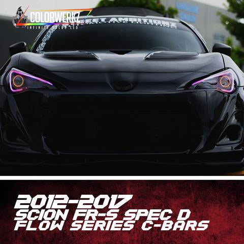 2012-2017 Scion FRS/Toyota GT86 Spec D Color-Chasing DRL Boards