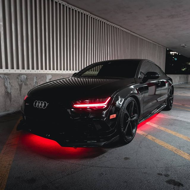 2015-2017 Audi A7/S7/RS7 RGBW Color-Chasing DRL Tube Kit