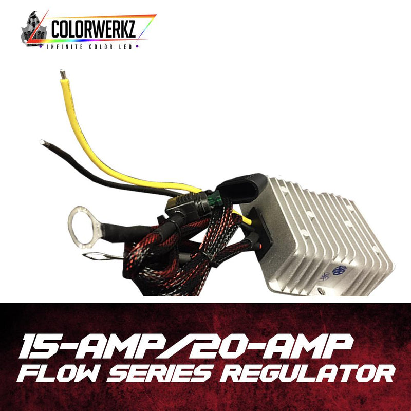 Flow Series Voltage Regulator (20 Amp) LED headlight kit AutoLEDTech Colorwerkz Oracle Lighting Trendz Flow Series Flashtech