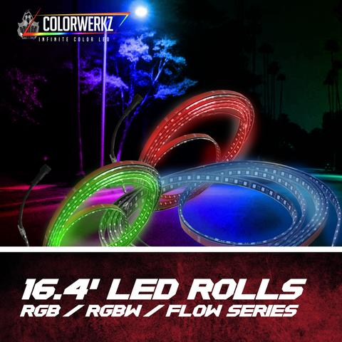 16.4' LED Strip Rolls LED headlight kit  AutoLEDTech Colorwerkz Oracle Starry Night Flashtech