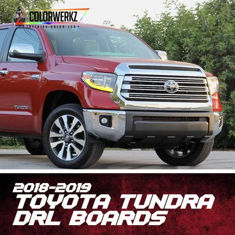 2018-2019 Toyota Tundra RGBW +A DRL Boards LED headlight kit  AutoLEDTech Colorwerkz Oracle Starry Night Flashtech