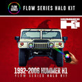 1992-2006 Hummer H1 Color-Chasing Halo kit LED headlight kit  AutoLEDTech Colorwerkz Oracle Starry Night Flashtech