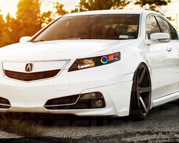 2009-2014 Acura TL Color-Chasing Halo Kit