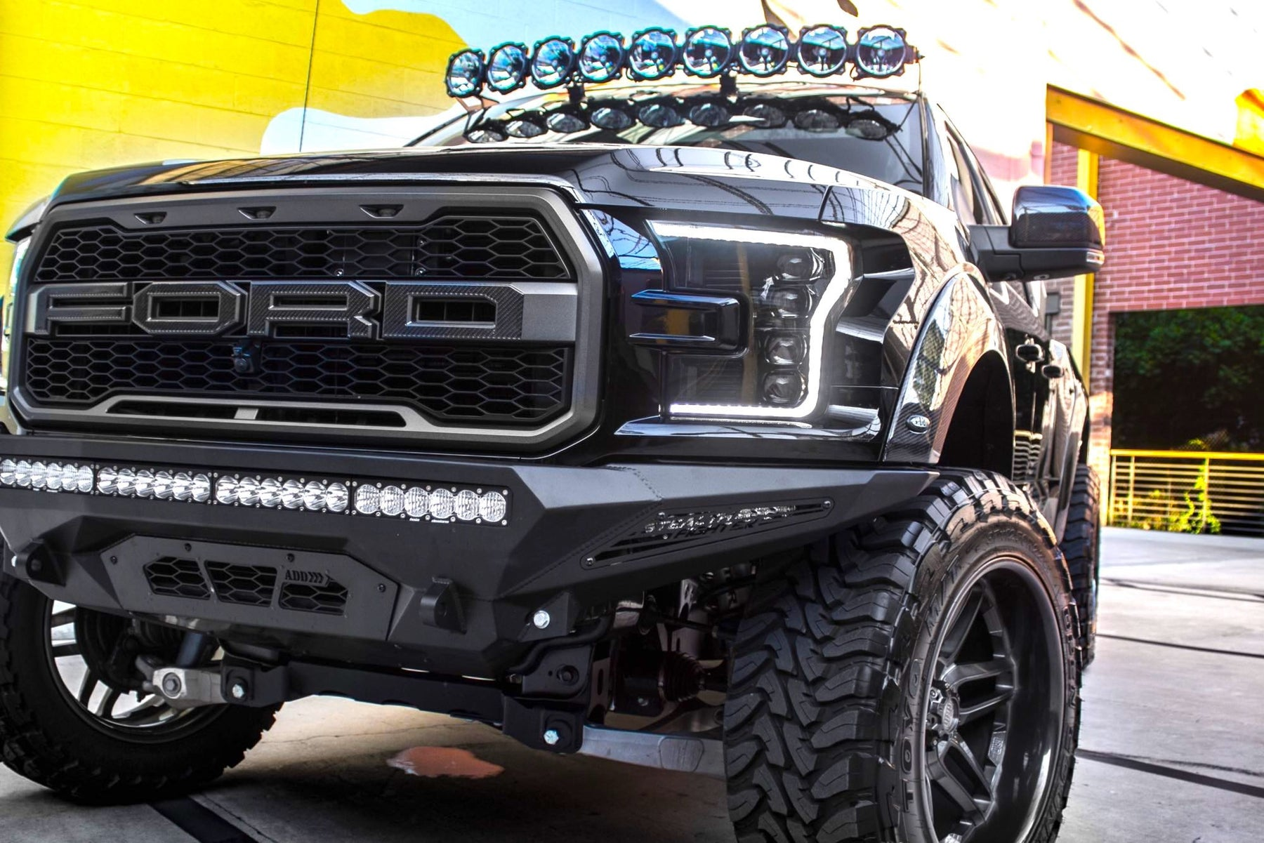 2017 Ford Raptor White >> 2016 2019 Ford Raptor F150 Led Drl Projector Headlights