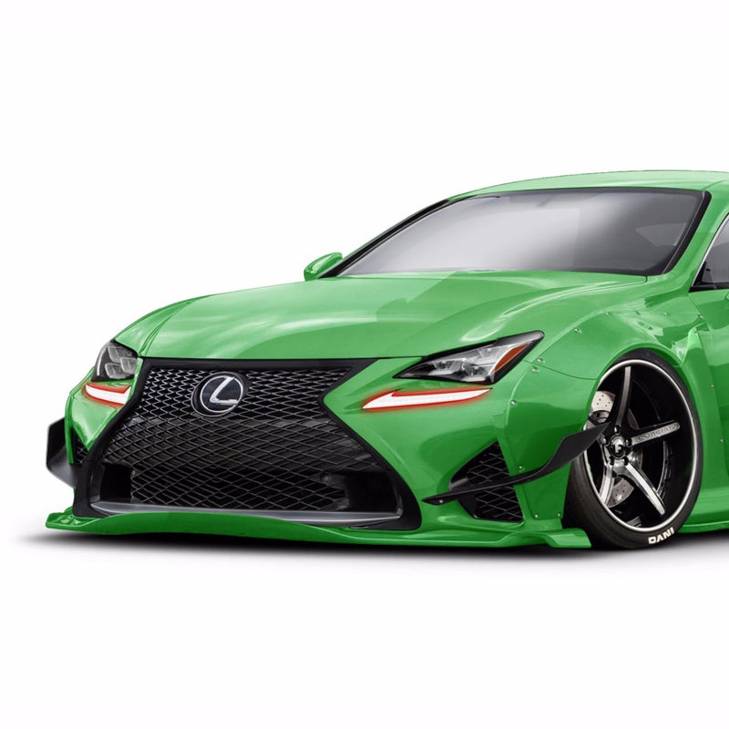 2015-2018 Lexus RC 350 / F Color-Chasing LED DRL Boards