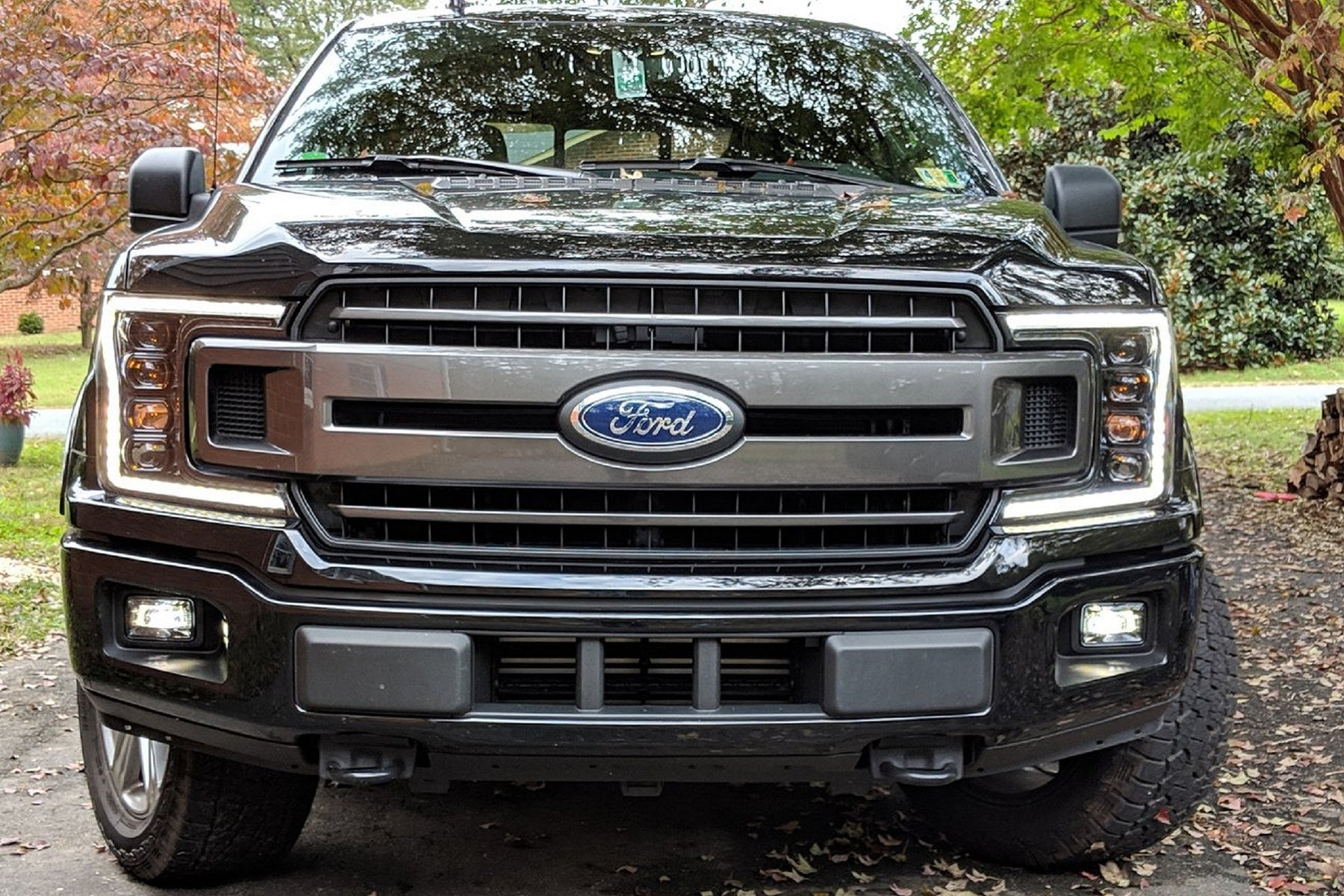 ford  led drl projector headlights autoledtechcom