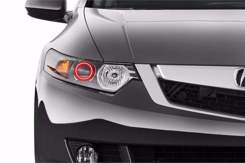 2009-2014 Acura TSX Color-Chasing Halo Kit