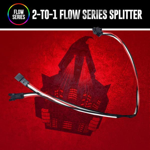 2-to-1 Flow Series Splitter LED color chasing headlight halo kit  AutoLEDTech & Colorwerkz