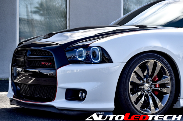 2011 2014 Dodge Charger Color Chasing Halo Kit