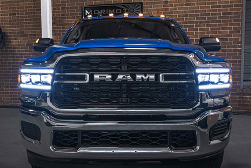2019-2021 Dodge Ram 2500 3500 HD LED DRL Projector Replacement Headlights