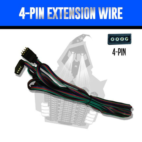 4-Pin Extension Wire