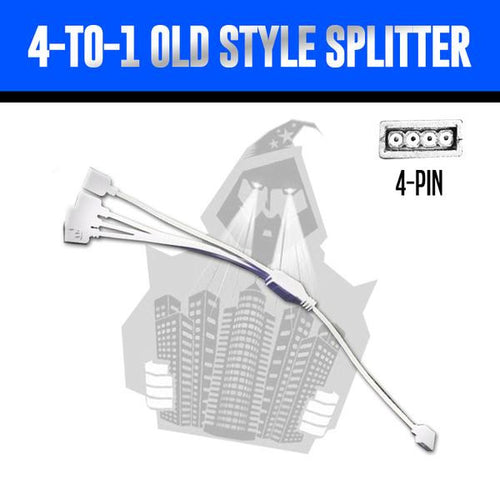 4-to-1 Splitter (Old Style)