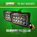 4x6 CREE w/ COLORWERKZ Pre-Installed LED headlight kit  AutoLEDTech Colorwerkz Oracle Starry Night Flashtech