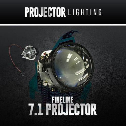 H1 7.1 Projector Housings