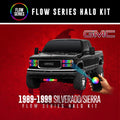 1989-1999 Chevrolet 1500/Tahoe OBS Color-Chasing Halo Kit LED headlight kit  AutoLEDTech Colorwerkz Oracle Starry Night Flashtech