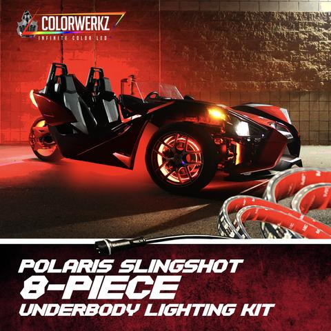 Polaris Slingshot LED Underbody Lights Kit LED headlight kit  AutoLEDTech Colorwerkz Oracle Starry Night Flashtech