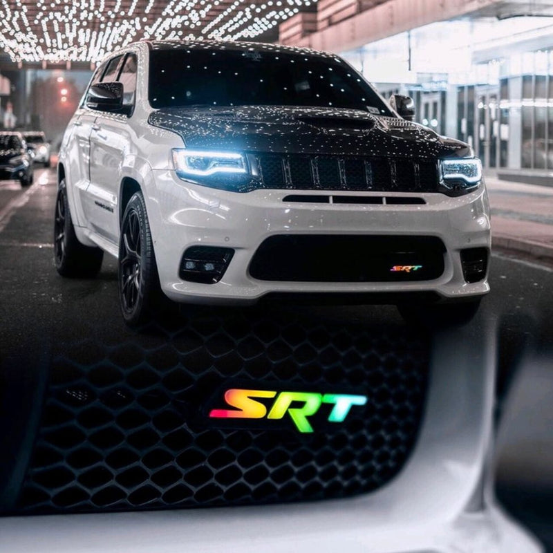 Dodge Mopar SRT LED Badge Emblem Logo (Flow Series)