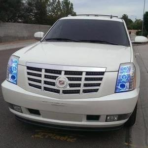 2007-2014 Cadillac Escalade Color-Chasing Halo Kit