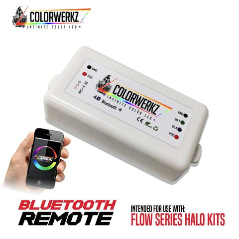 Flow Series Color-Chasing Bluetooth Controller LED headlight kit AutoLEDTech Colorwerkz Oracle Lighting Trendz Flow Series Flashtech RGBHaloKits LED Concepts